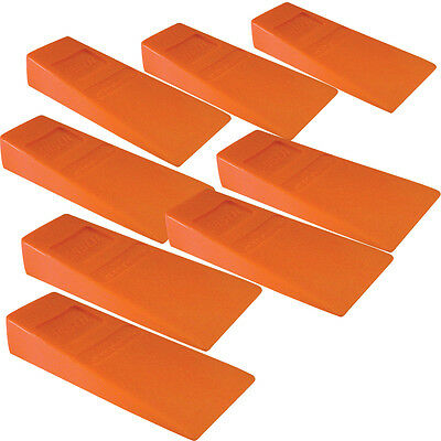 "8 Felling Bucking 5-1/2"" Wedges High Impact ABS Plastic Double Falling wedge"