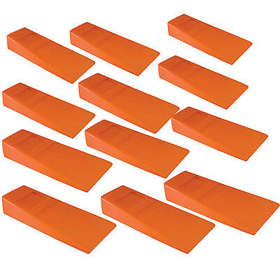 "12 Felling Bucking 5-1/2"" Wedges High Impact ABS Plastic Double Falling wedge"