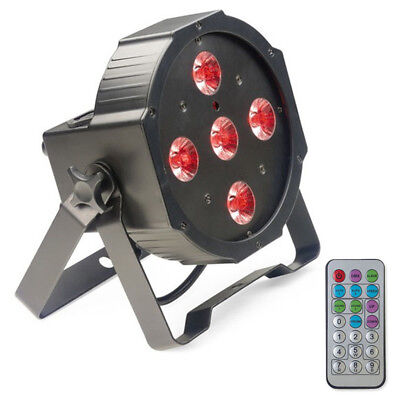 Stagg SLI ECOPAR 2 40W Red Green Blue White Par Can Spot Light + Remote 1Kg