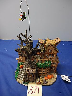 Lemax Spooky Town Witches Lair 45003 As-Is 871