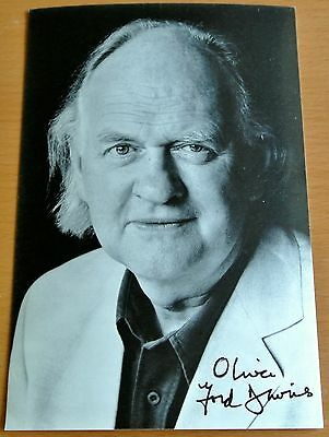 OLIVER FORD DAVIES Signed Official Photo Genuine Autograph star wars & COA