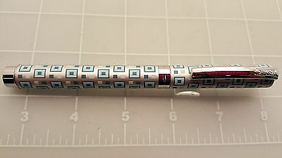 Judd's NEW Online Germany Vision Ice Blue Fountain Pen - 0.8 Nib