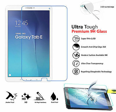 9H HD 100% Genuine Tempered Glass Screen Protector For Samsung Tab E T560 T561