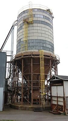 Wood Fuel Storage Silo, Biomass, Wellons, Approximately 750 Yard Capacity, A30