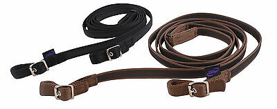 Official Libby's Sure-Grip Reins with Buckle or Trigger to Bit attachments