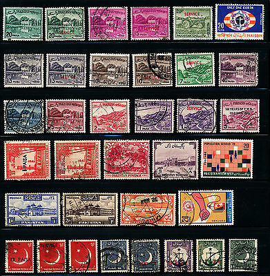 C668  Pakistan Collection Of Used Stamps