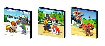 Paw Patrol Set B Canvas Wall Art Plaques/pictures
