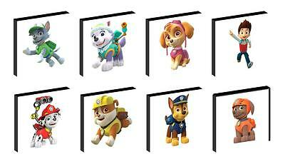 Paw Patrol Characters Canvas Wall Art Plaques/pictures You Choose
