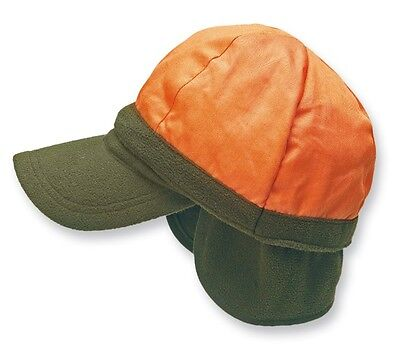 Wende-Fleece-Cap Hunter Jagd Forst Mütze