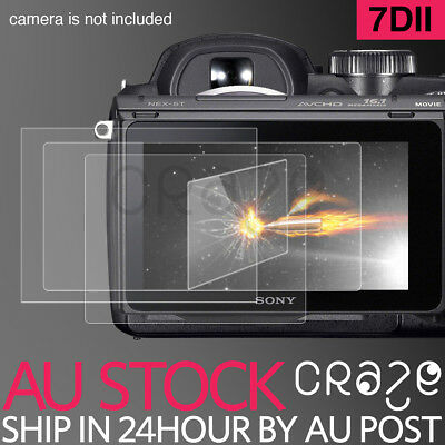 LCD Premium Tempered Glass Film Screen Protector For Canon 7D2 7DII 7D mark ii