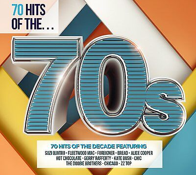 70 HITS OF THE 70s (Best Of / Greatest Hits) 3 CD SET (2016)
