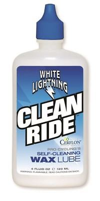 White Lightning Bike Clean Ride Wax 2Oz, 4Oz, 8Oz, 32Oz