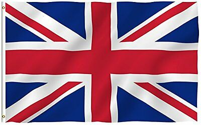 Count British Union Jack (Uk Great Britain)Ry Flag: 3X5ft Poly 3 Foot By 5 Foot