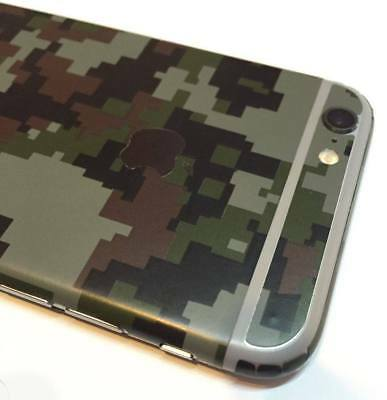 iPhone 6 6s camouflage military armee Tarnmuster Folie Design 3D  NEU Case Wrap