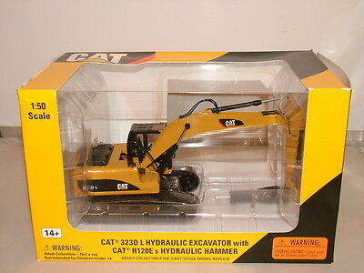 Norscot No 55282 is the model of the Cat 323D L fitted with a hammer New