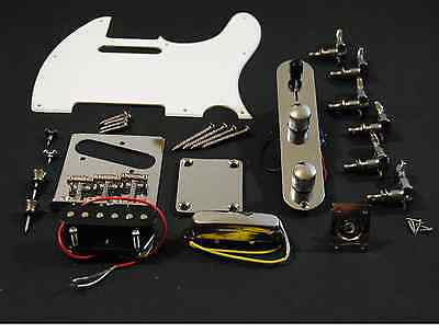 Kit Completo Hardware Guitarra Telecaster - Full Chrome Hardware Set TL Guitar