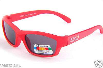 Baby Polarized Sunglasses Lightweight & Flexible Design UltraViolet Blocking