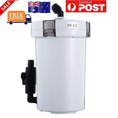 AU Stock Aquarium External Canister Filter Fish Water Tank Sponge Pond