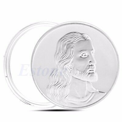 New Jesus The Last Supper Commemorative Silver Plated Coin Art Collection Gifts