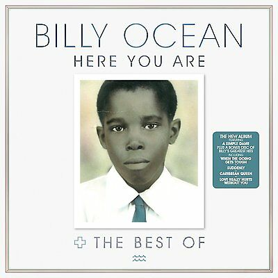 BILLY OCEAN 'HERE YOU ARE : THE BEST OF' (Greatest Hits) 2 CD SET (2016)