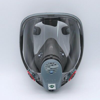 For 3M 6800 SJL Gas Mask Full Face Facepiece Respirator Painting Spraying New