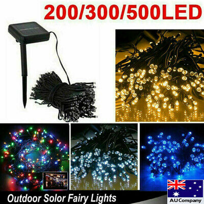 200/300/500/1000 LED Fairy String Lights Xmas Tree Party Wedding with AU Plug