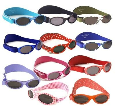 Baby Banz Adventurer Sunglasses 100% UVA/UVB Protection (0-2 Years) (20 Designs)