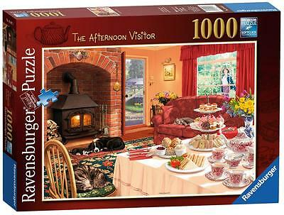 Ravensburger 19497 The Afternoon Visitor 1000 Piece Adult Jigsaw Puzzle - New