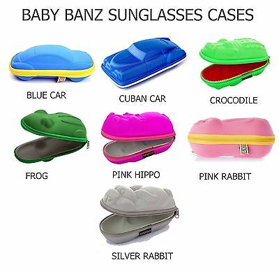 Baby Kidz Banz Sunglasses Hard Protector Cases (7 Designs Available!)
