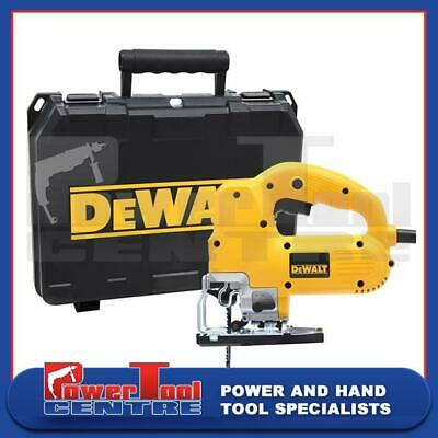 DeWalt Reconditioned DW341K Variable Speed Jigsaw Compact Top Handle 550W 110V
