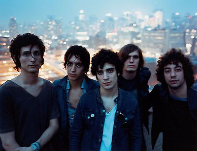 The Strokes 8X11 Photo Poster Live Concert Album Art Picture Decor Print 004
