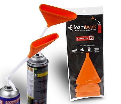 FoamBeak Vertical Foam Insulation Nozzle from ask This Old House (DIY foam)