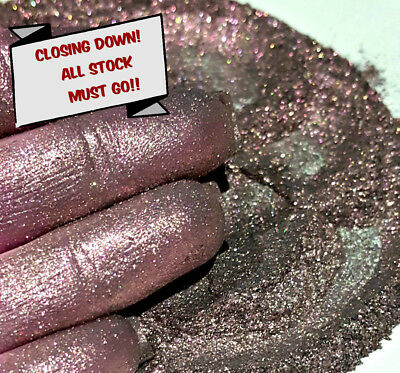 Pearlescent Mineral Mica Powder Pigment 10g - Gloss Red CLOSING DOWN