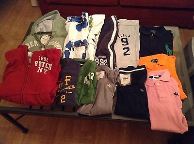 Bundle of Abercrombie+Fitch L Teenage Kids Unisex Hoodie Shorts Tops Joggers
