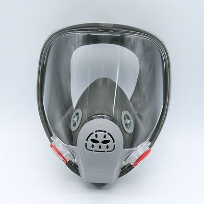 For 3M 6800 Gas Mask Full Face Facepiece Respirator Painting Spraying Grey