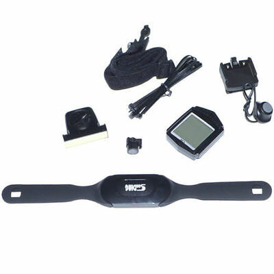 New Waterproof Wireless Bicycle Cycle Computer Odometer With Heart Rate Function