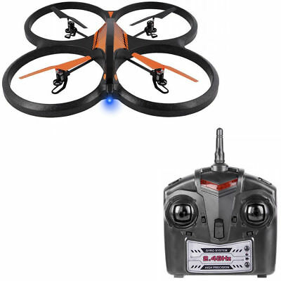 RC Drone Remote Controlled 720p HD Camera Flying Helicopter Toy 6 Axis Gyro