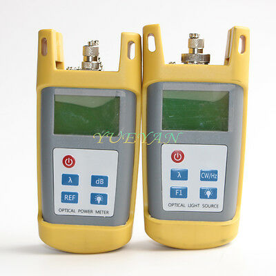 Fiber Optic Multimeter Tester Optical Power Meter Laser Light Source 1310/1550nm