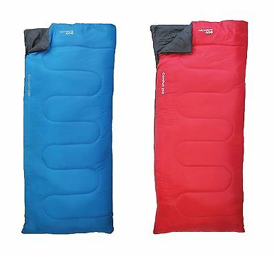 Yellowstone Comfort 200 Adult Sleeping Bags Waterproof Camping Hiking Festivals