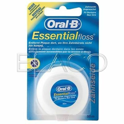Az Oral-B Filo Interdentale Essential Floss Non Cerato 50Mt Per Denti