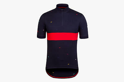 Rapha Navy Tempest Special Edition Jersey. Size X-Small. BNWT.