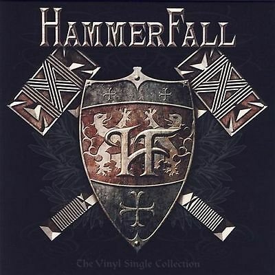 "4 x 7""- Hammerfall ‎– The Vinyl Single Collection-PICTURE BOX SET-"