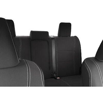 Toyota Hilux SR SR5 (Sep 15-now) FRONT & REAR Neoprene Seat Cover+Armrest Access