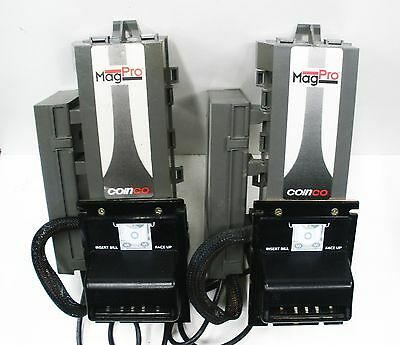 Two (2) Coinco MAG50B MagPro Bill Acceptor/Validator MDB replaces MAG30B MAG52BX
