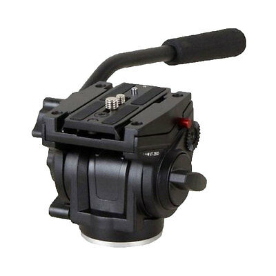 701HDV with 501PL QR Plate Pro Fluid Video Mini Head for Manfrotto Tripod New