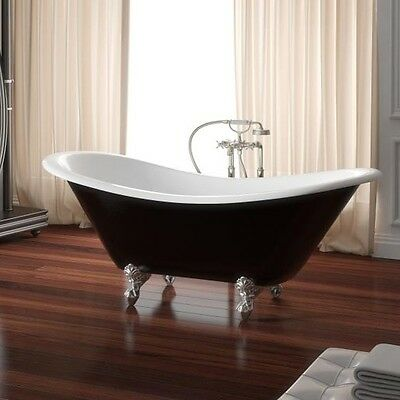 NEW Vittorio Traditional Double High Back 1800 Claw Foot Bath