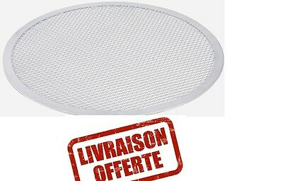 Lot de 10 grilles pizza aluminium ø 250 mm.