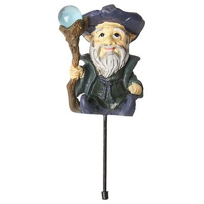Fiddlehead Fairy Garden Accessory Wizard with Staff
