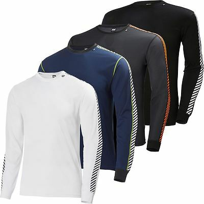Helly Hansen 2016 Couche Dry Stripe Hommes Crew Neck Shirt Manches Longues