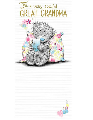 Me To You For A Very Special Great Grandma Birthday Card Tatty Teddy Bear New